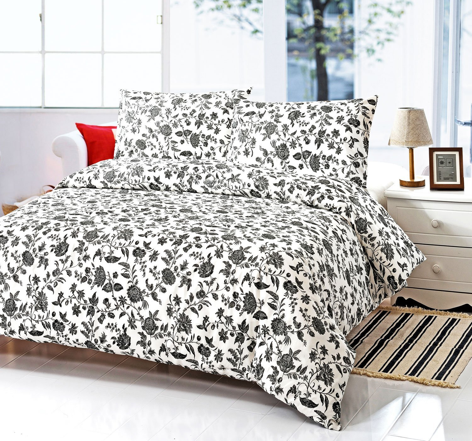 black white duvet covers