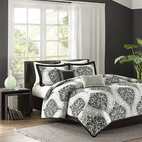 best black and white bedding