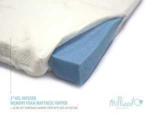 highest rated memory foam mattress topper