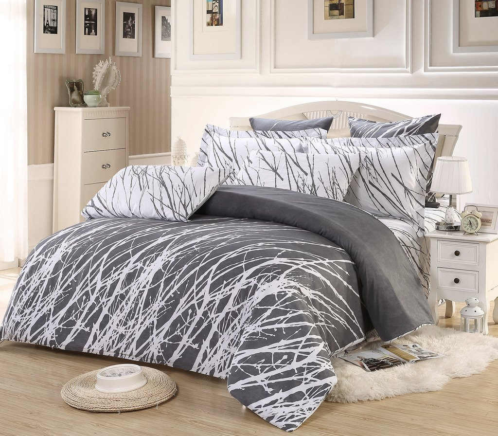 9 Best Grey And White Duvet Cover Sets That Won T Break