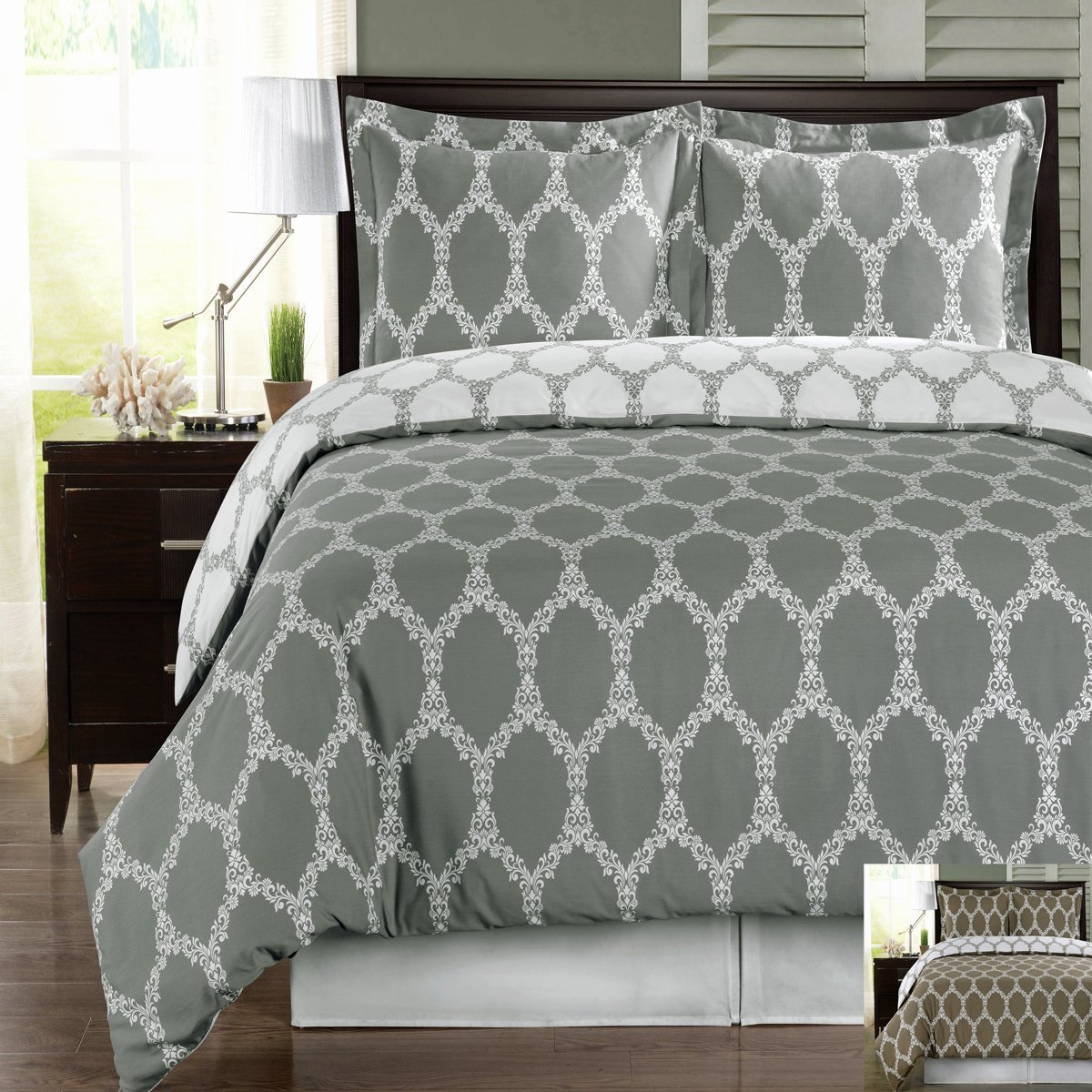 gray and white duvet cover set  sweetgalas -  best grey and white duvet cover sets that won t break the bank