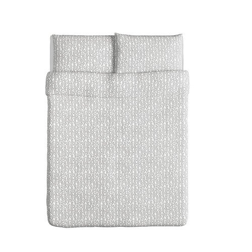 Grey And White Duvet Cover set