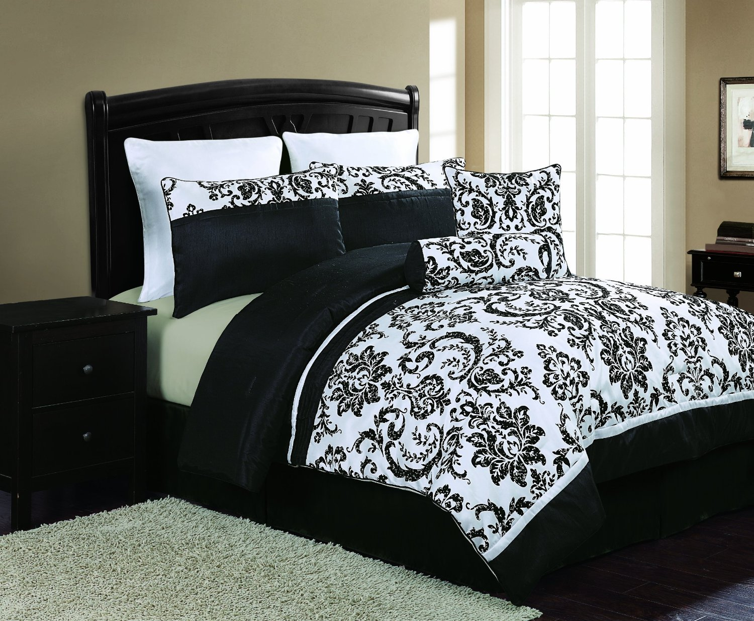 black and white bedroom sets black and white bedding sets that will make your room look 18337