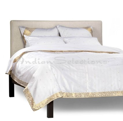 White And Gold Duvet Cover sets