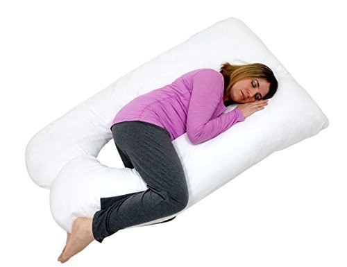 U-Shaped  Contoured Body Pillow