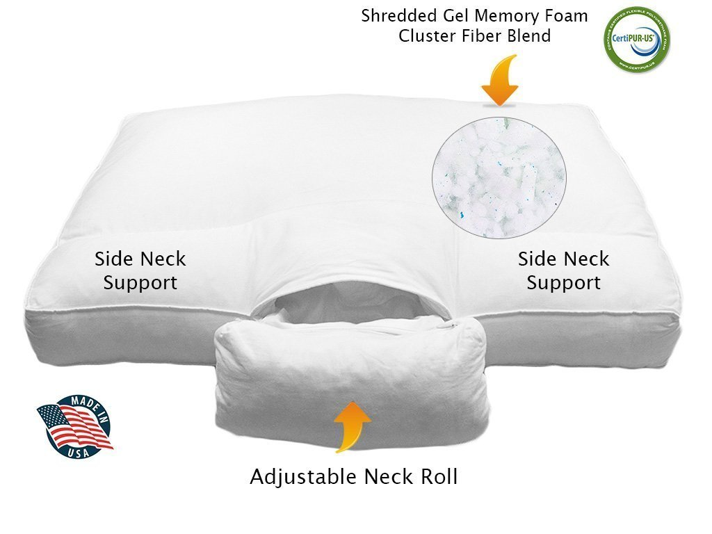 Best Pillow For Shoulder Pain Reviews Stop Waking Up In
