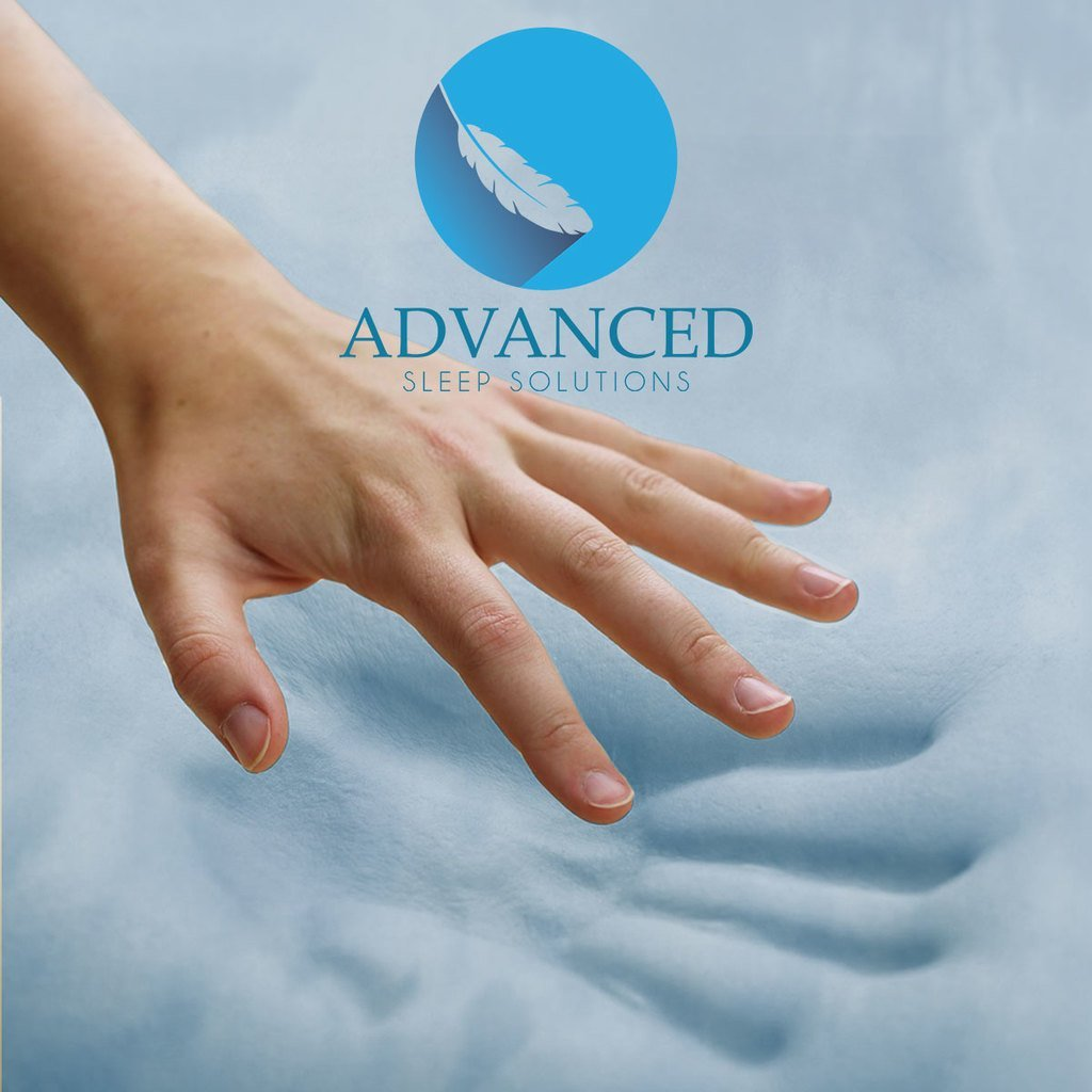 Gel Memory Foam Topper by Advanced Sleep Solutions
