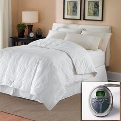 Sunbeam All Season Premium Heated Mattress Pad with Two Heating Digital Controllers